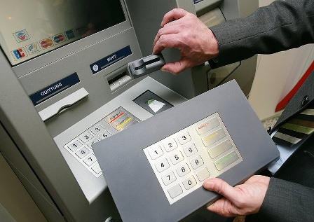 скиммер банкомат карта