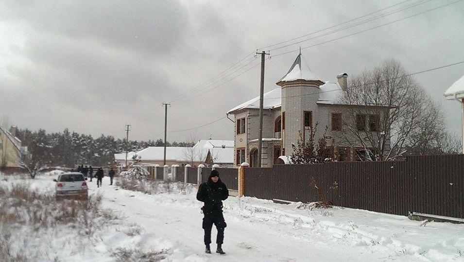 Недостроенный дом по ул. Шептицкого, 18, где сидели разведчики. Фото: vesti-ukr.com