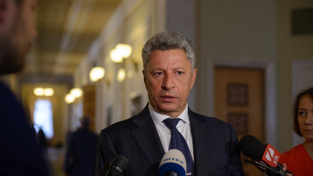 Юрий Бойко, «Оппозиционный блок»