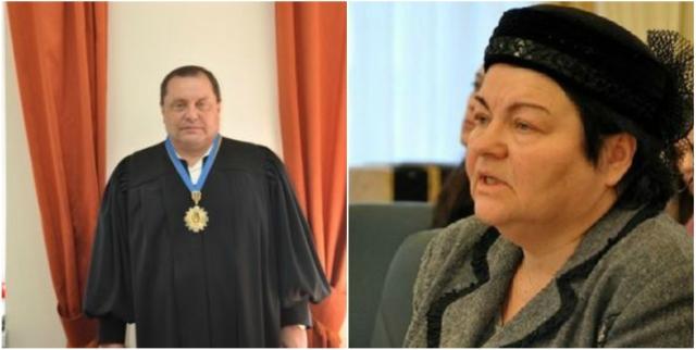 Судьи Геннадий Подберезный и Наталья Овчаренко, обвиняемые в попытке дать взятку Назару Холодницкому