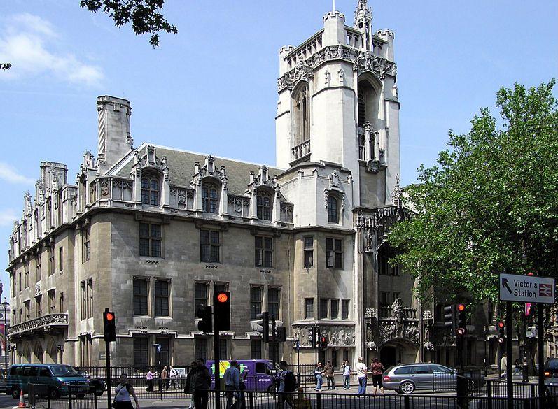 Верховний суд Великої Британії. Фото: Arpingstone / wikipedia.org