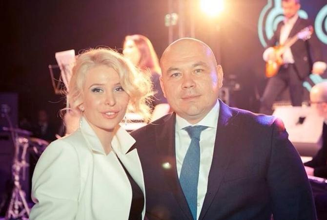 Діана Самойлик (у дівоцтві Антипенко) з чоловіком. Фото: kp.ua