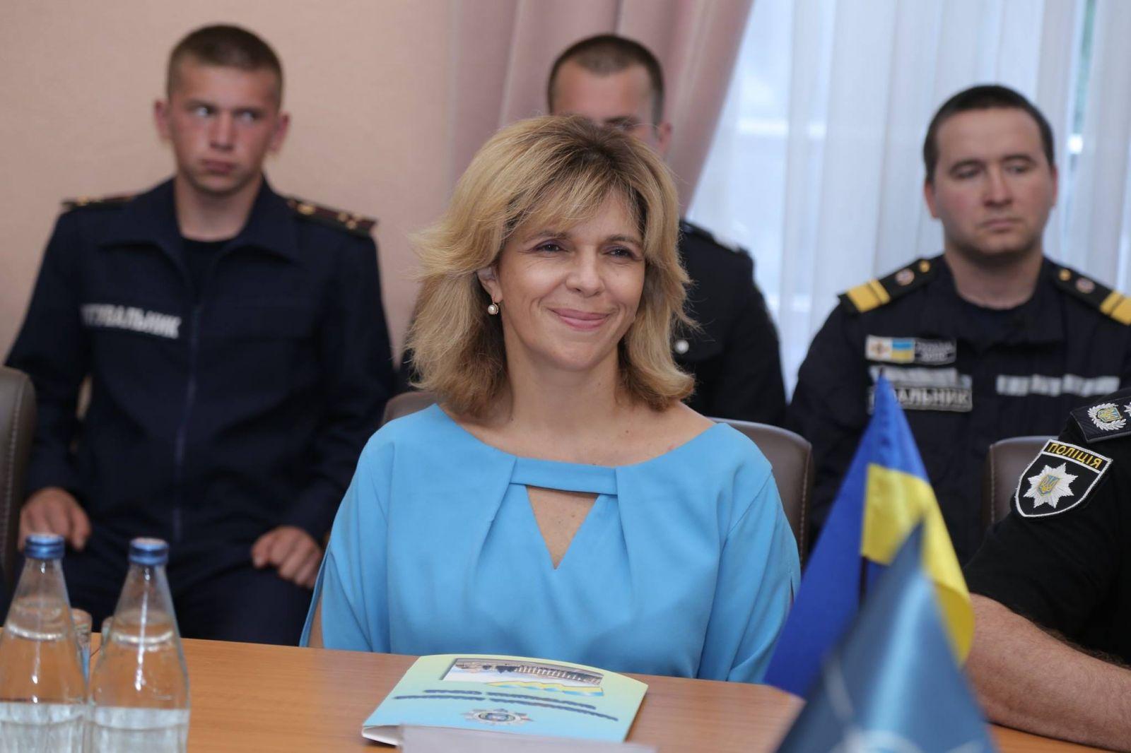 Ольга Богомолец. Фото: www.facebook.com/olgabogomolets
