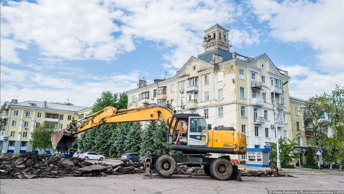 Краматорск сейчас и пять лет назад. Фото: Алексей Поддубный