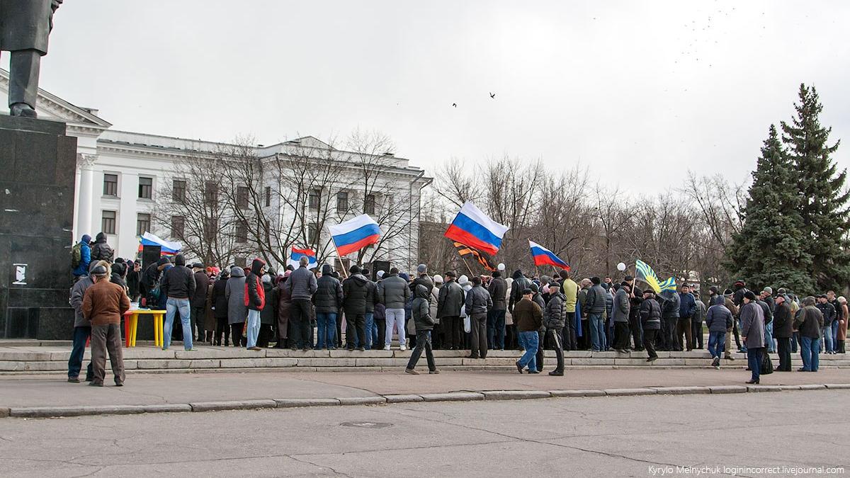 Краматорск сейчас и пять лет назад. Фото: Кирилл Мельничук