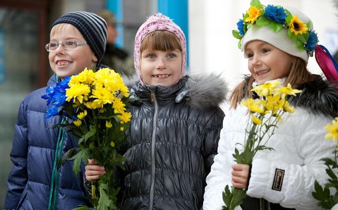 Так встречают защитников Украины