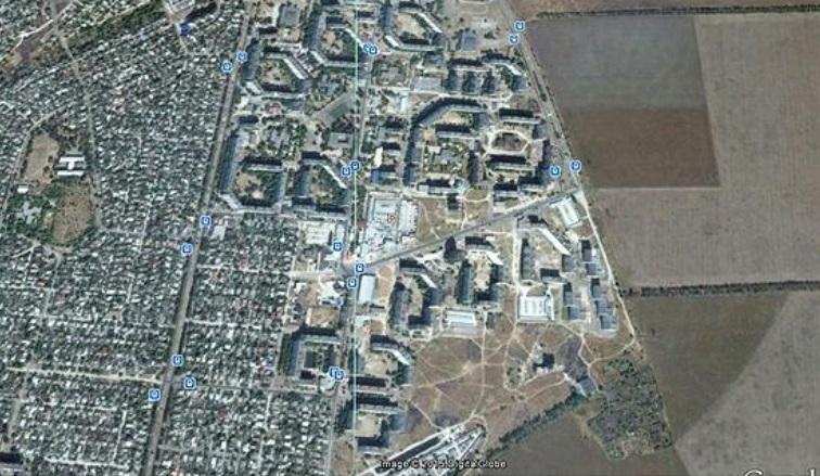 На жилмассиве Восточный в Мариуполе проживает 36 тыс. гражданских лиц