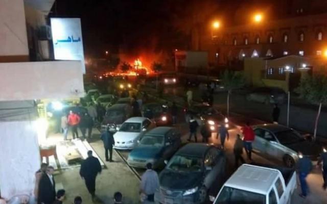 Теракт в Ливии. Фото: The Libya Observer