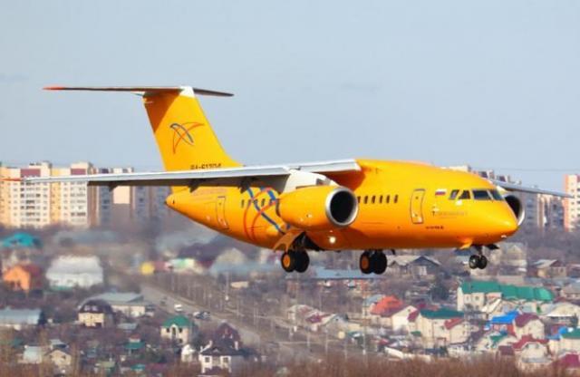 Пассажирский самолет упал вПодмосковье