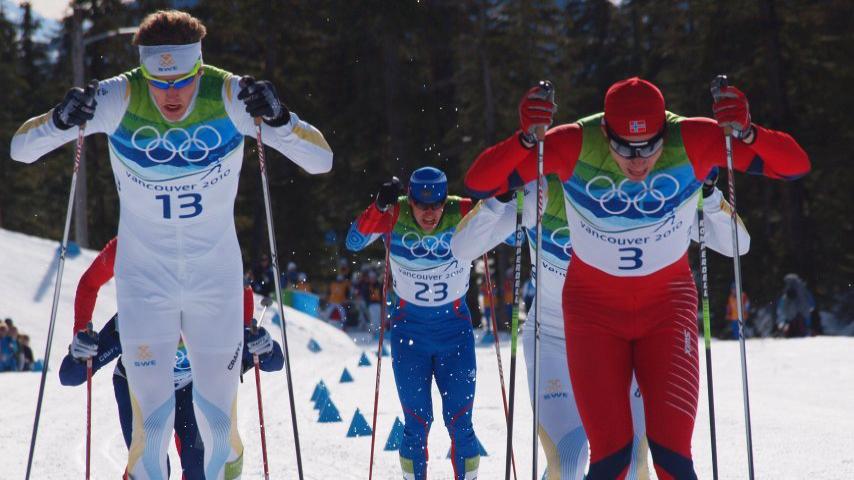 Фото: Классический спринт по лыжным гонкам