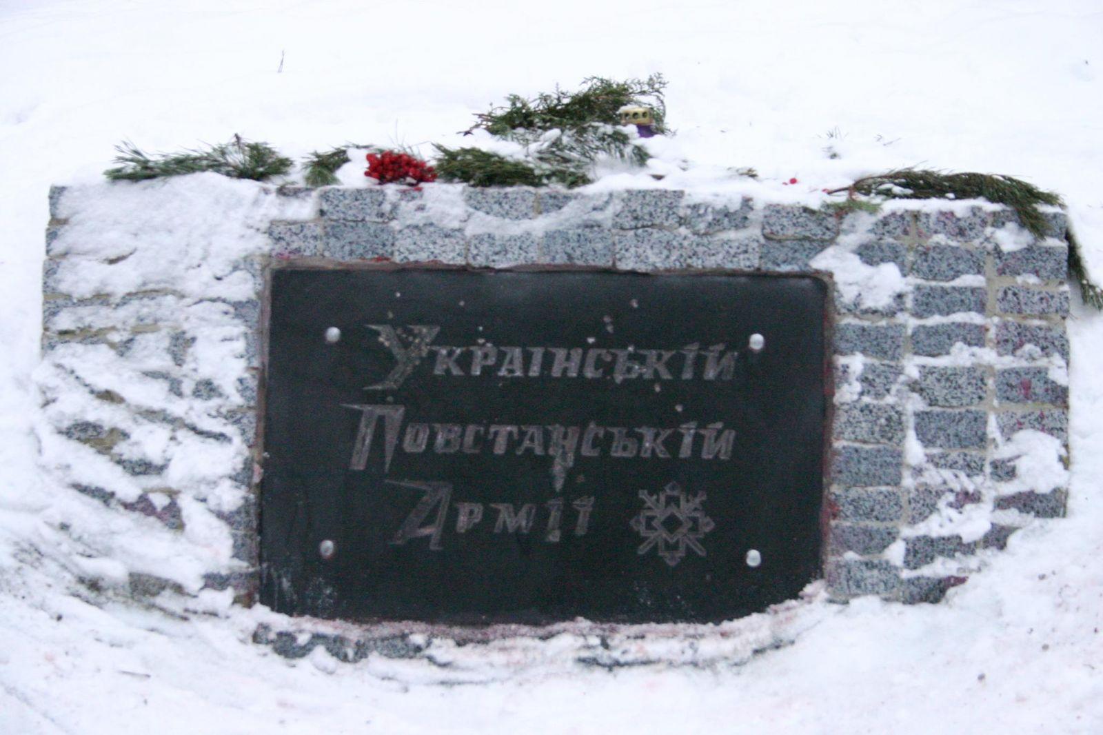 УХаркові розфарбували пам'ятник вкольори польського прапора