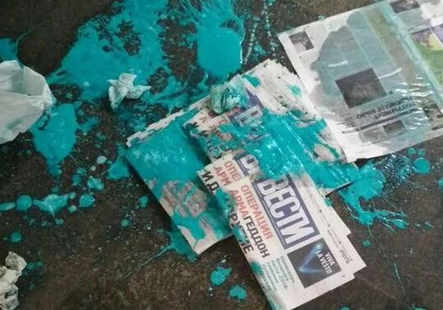 ВКиеве настанции метро напали напромоутера газеты «Вести»