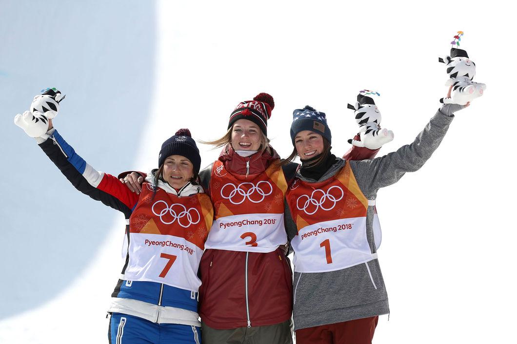 Канадская фристайлистка Шарп выиграла «золото» ОИвхафпайпе, россиянка Демидова— шестая