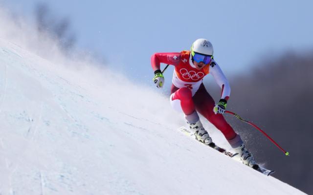 Швейцарка Мишель Жизен завоевала золото Олимпиады вгорнолыжной комбинации