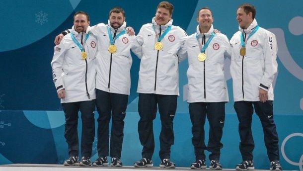 Олимпиада-2018. Мужской сборной США покерлингу вручили дамские медали