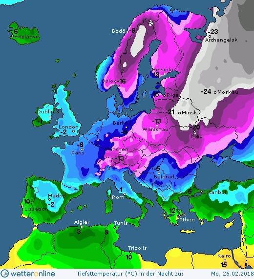 Карта: Wetter.online