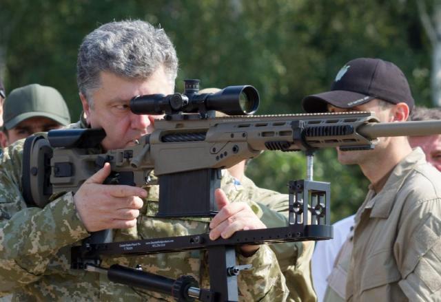 Поставка зброї зСША вУкраїну відбудеться через кілька тижнів— Порошенко