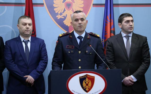 ВАлбанії затримали партію кокаїну в613кг