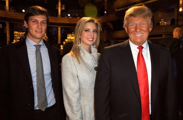 Трамп может выгнать дочь изятя изБелого дома