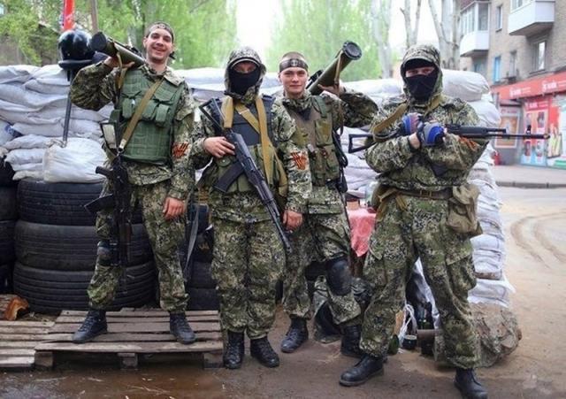 Пьяные боевики пытались пробиться через передовые позиции сил АТО