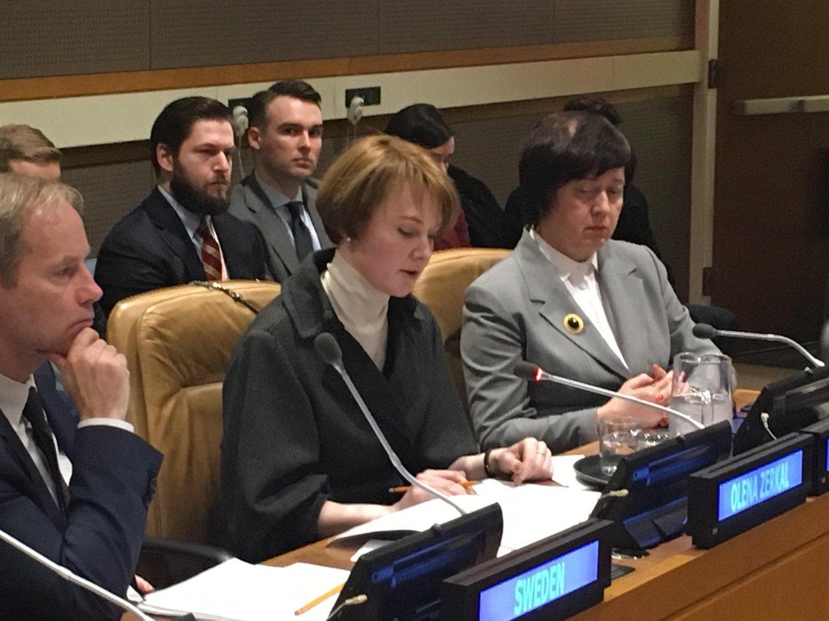Необходимо усиливать санкции вотношении РФ ввопросе Крыма— Елена Зеркаль