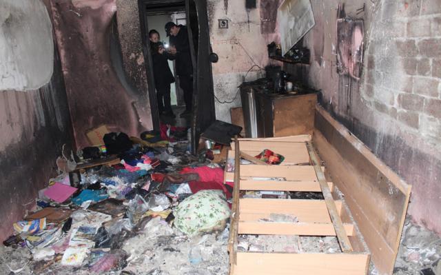Водному із гуртожитків Хмельницького спалахнула пожежа, евакуювали 77 студентів