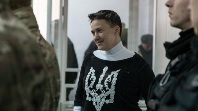 Герой Украины захотел взять Савченко напоруки