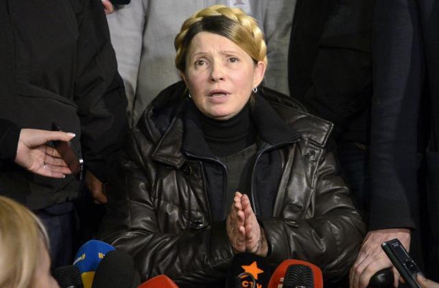 Тимошенко показала, сколько заработала в2014г.