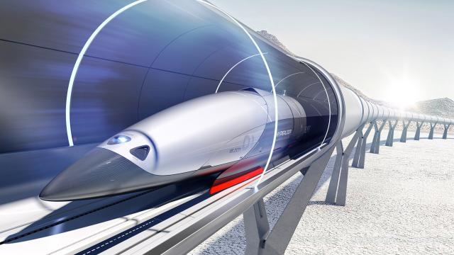 Стали відомі точні терміни появи Hyperloop вУкраїні