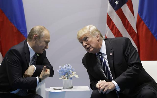 Дональд Трамп предложил Владимиру Путину увидеться вБелом доме