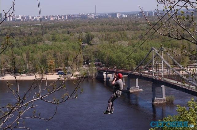 На Труханов остров в Киеве построят канатную дорогу, - замглавы КГГА Плис - Цензор.НЕТ 8209