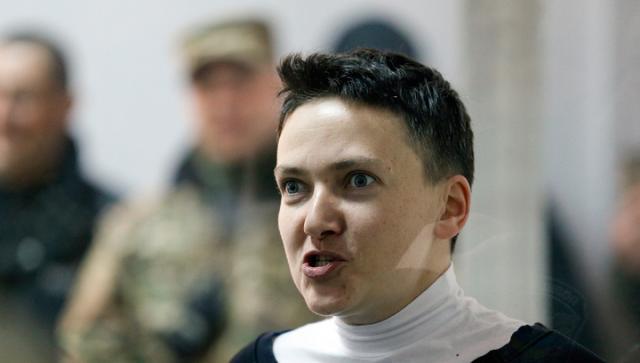 Вера Савченко сообщила, что Надежду всреду доставят в клинику
