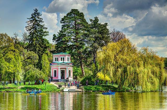 У «Софіївці» з'являться японський сад, українська садиба таводоспад зозером— Гройсман