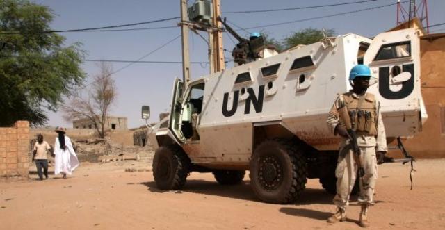 ВМали боевики напали набазу миротворцев ООН