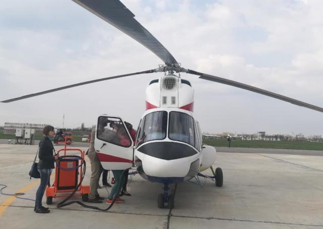 УЗапоріжжі здійснив дебютний політ перший український вертоліт МСБ-2 «Надія»