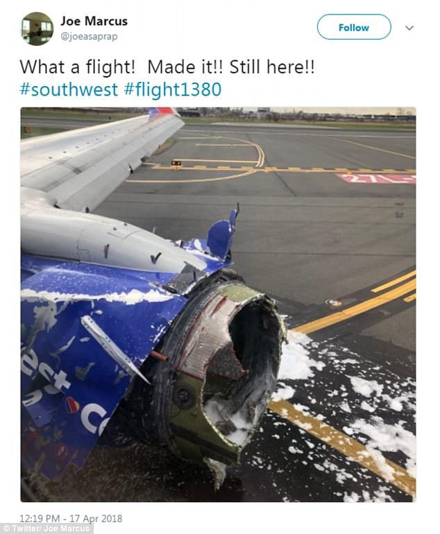 Пассажирский самолет совершил экстренную посадку вСША из-за неполадок с мотором