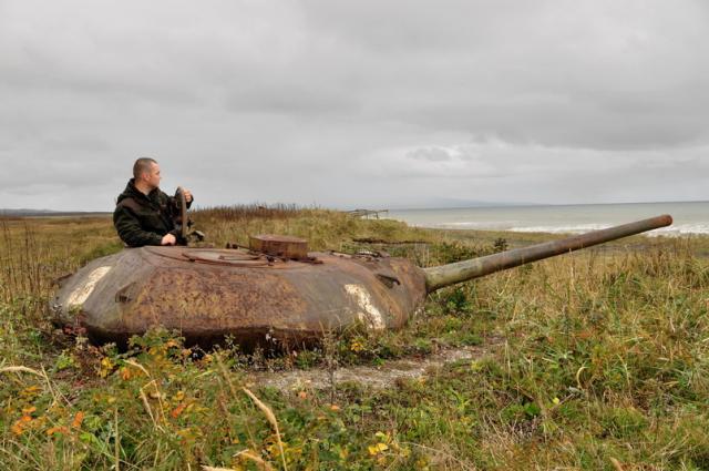 Тысячи русских  солдат учавствуют  втактических учениях наКурилах