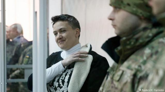 Савченко иее защитники : демарш правозащитников ипозиция народного депутата