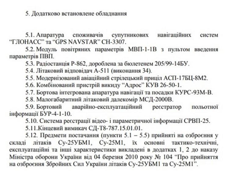 Документ: Повітряні сили України