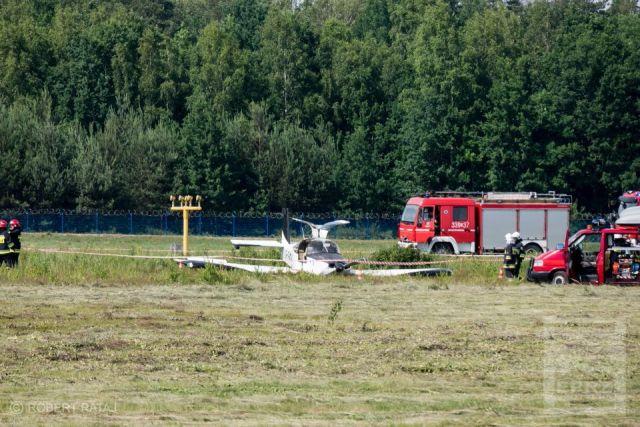УПольщі розбився український літак, є постраждалі