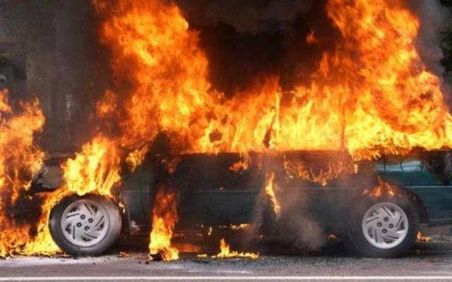 УКиєві вибухнув припаркований автомобіль