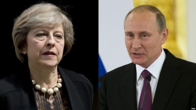 Мэй: Ябуду настаивать насохранении иусилении санкций против России