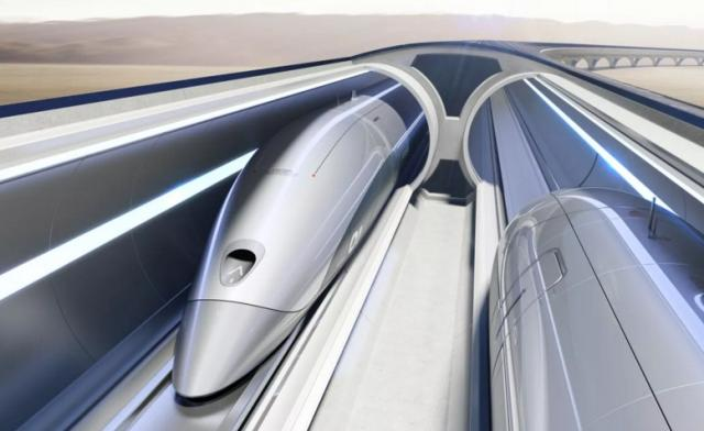Фото: Hyperloop