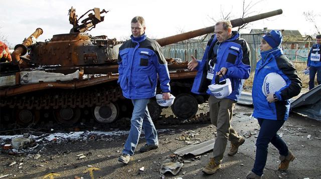 ВДерждепі США звинуватилиРФ узалякуванні місії ОБСЄ наДонбасі