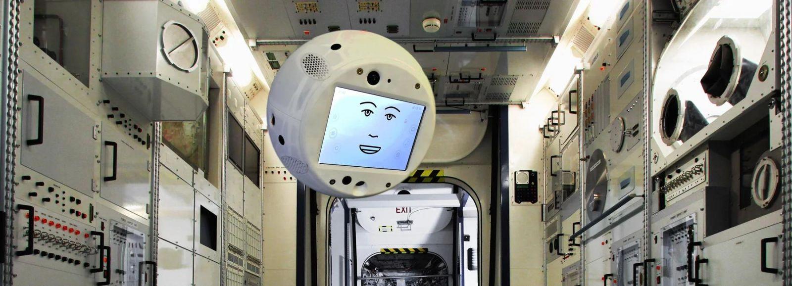 Робот CIMON, фото: Designboom