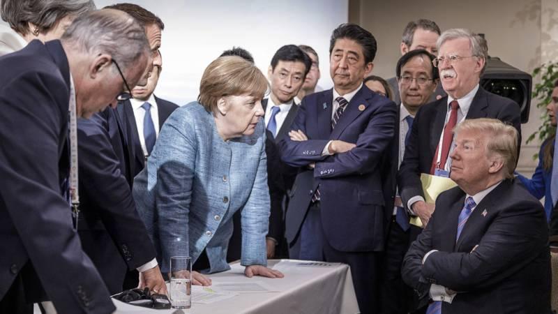 Фото: Встреча лидеров G7 в Канаде