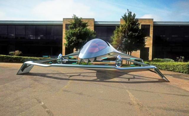 Астон Мартин разработал летающий автомобиль Volante Vision Concept