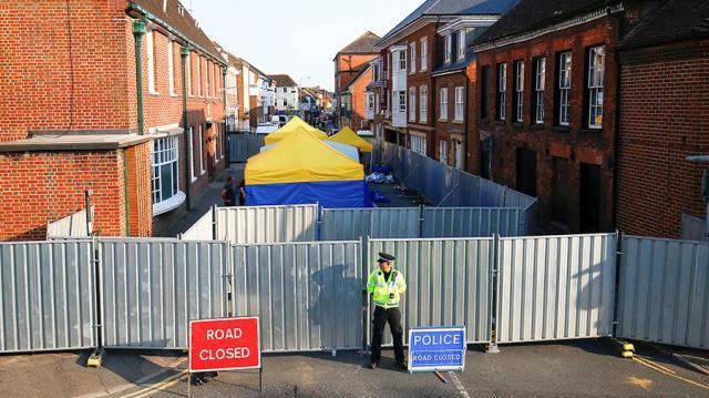 Отруєння вЕймсбері: потерпілого британця виписали з лікарні