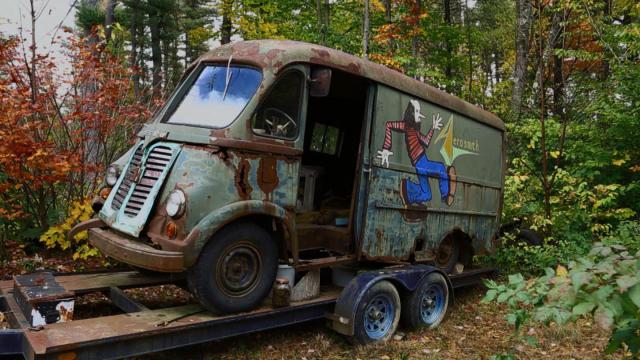 Гастрольный фургон группы Aerosmith отыскали вамериканском лесу