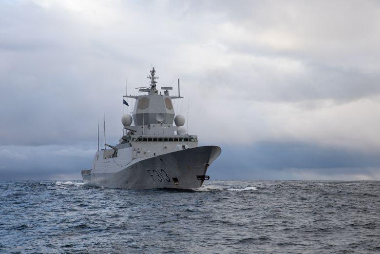 Біля берегів Норвегії фрегат зіткнувся зтанкером, є постраждалі